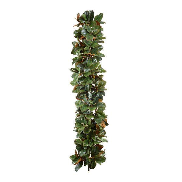 6' Magnolia Leaf Garland, Grand Luxe