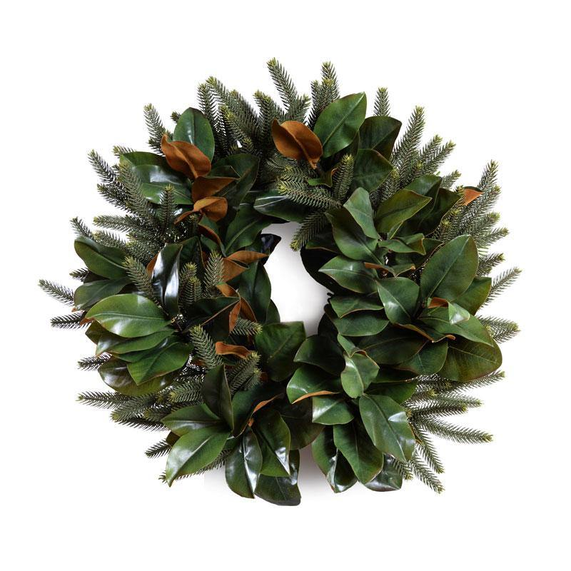 "24"" Magnolia, Fir Wreath - New Growth Designs"