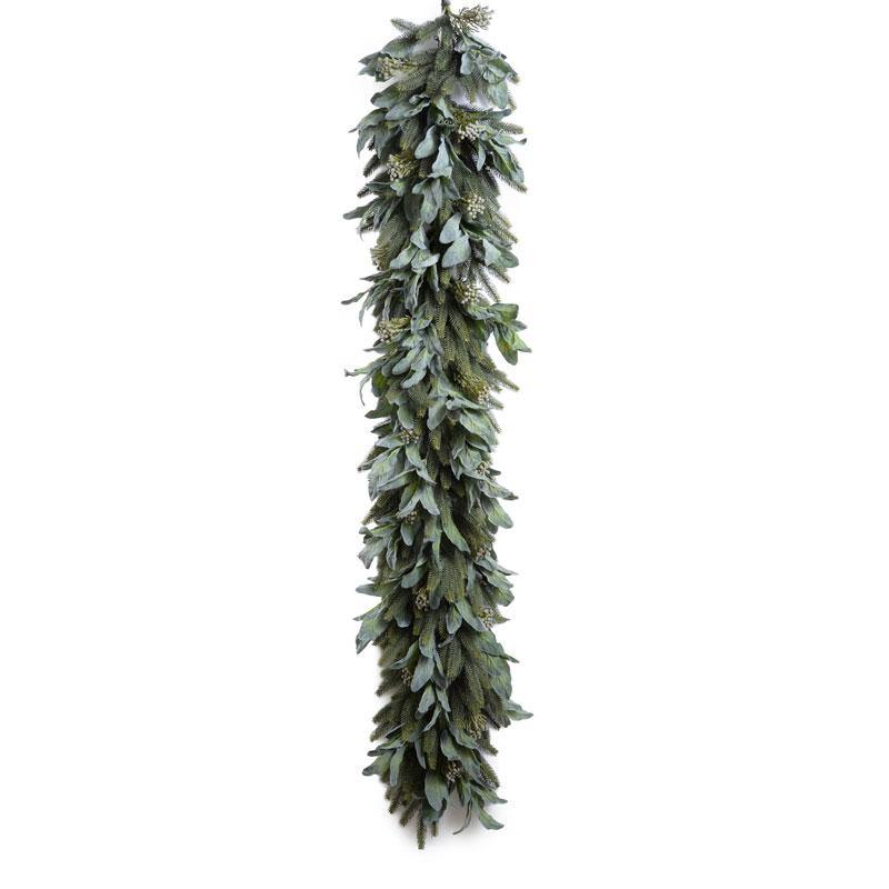 6' Lamb's Ear, Fir Garland - New Growth Designs
