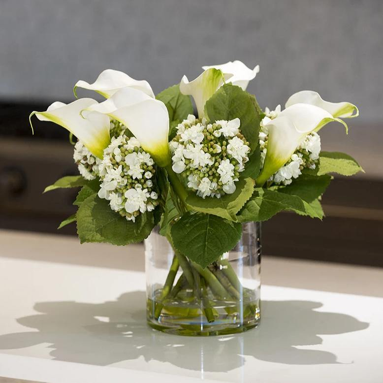 Calla Lily & Hydrangea Buds - New Growth Designs