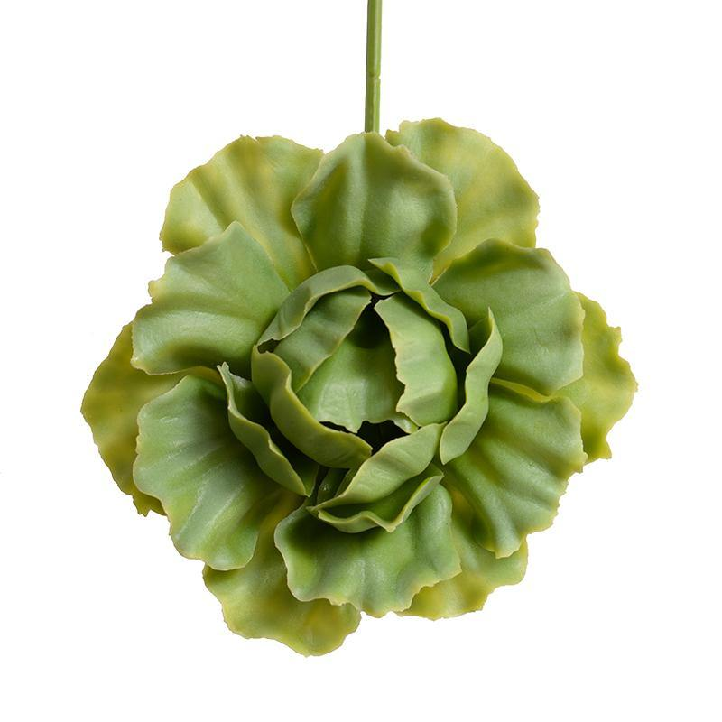 Succulent Pick, Cabbage - Light Green - New Growth Designs