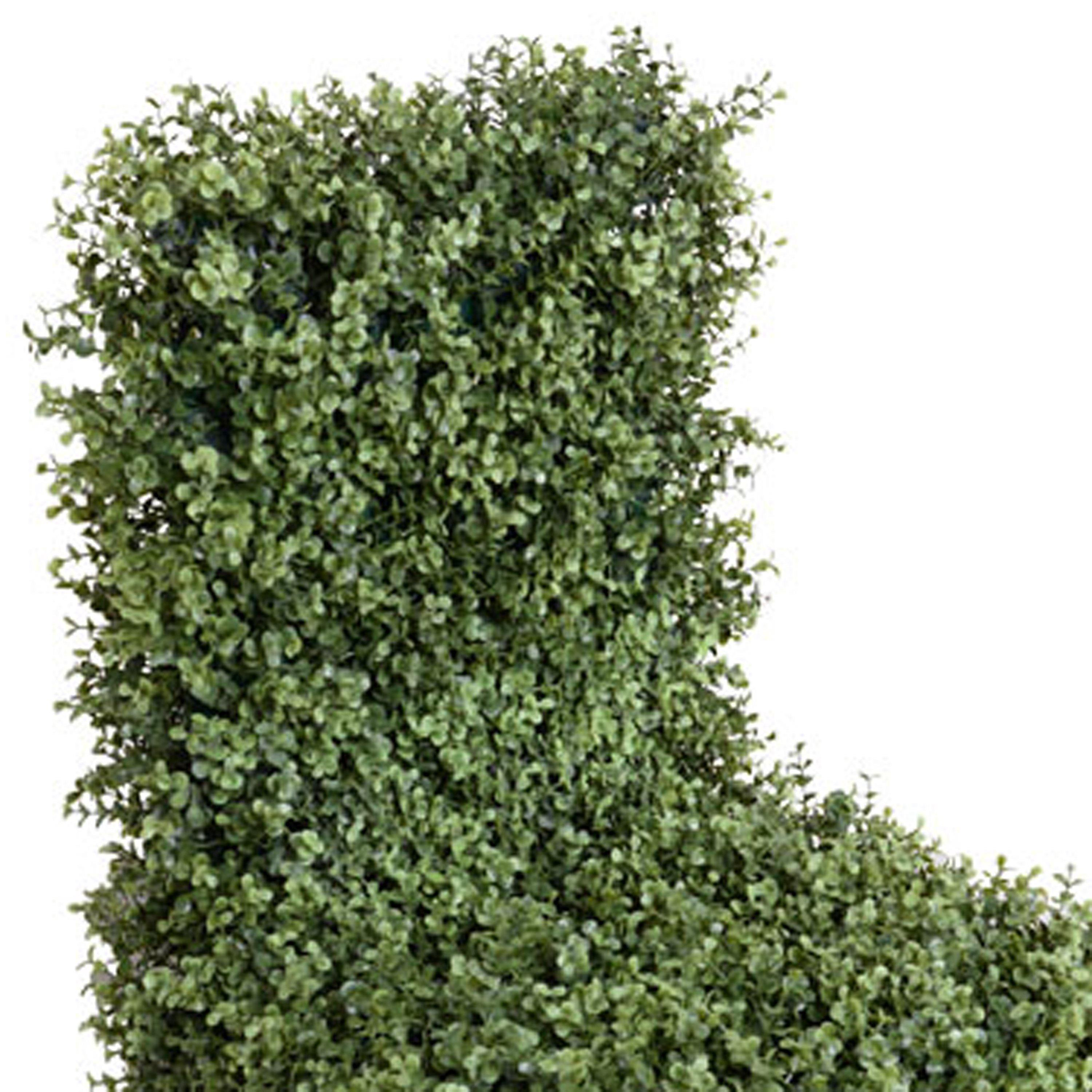 Garden Chair with Enduraleaf Boxwood - New Growth Designs