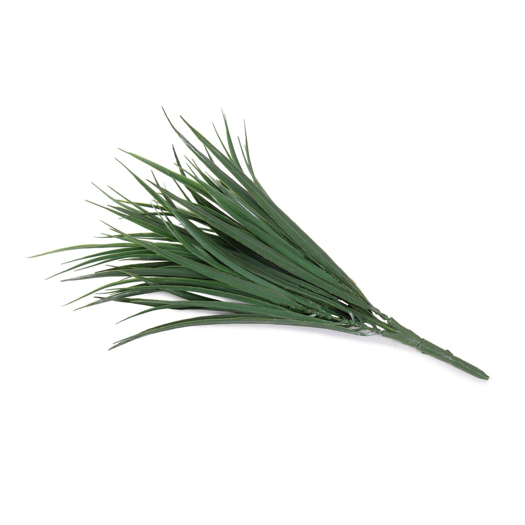 "Grass Spray, 16"" L - Green Liriope"