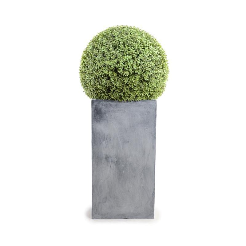 "15"" Boxwood Column Topiary - New Growth Designs"