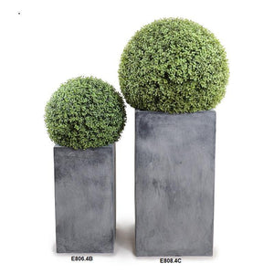 "22"" Boxwood Column Topiary, 52""H"
