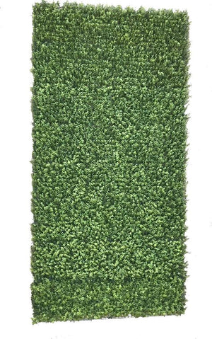 4' W x 8' H Boxwood Wall Mat (Roll)