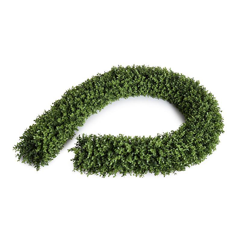 "Boxwood Rope Garland, 6"" diameter"