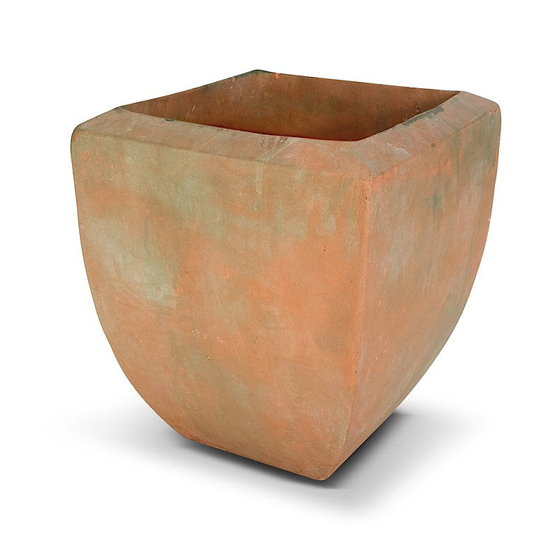 "Rustic Terracotta Tree Planter - 13""W"