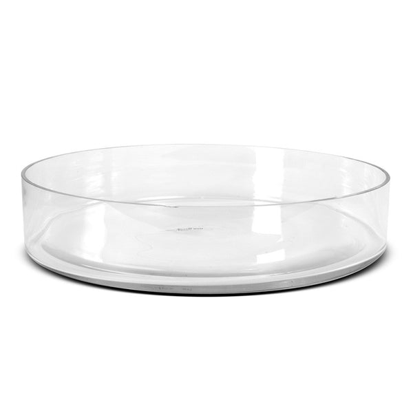 "Glass Vase, 19"" x 4"" Bowl - New Growth Designs"