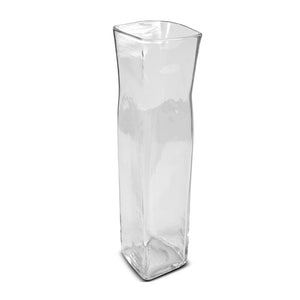 "Glass Vase, 18"" x 4"" x 4"" Column - New Growth Designs"