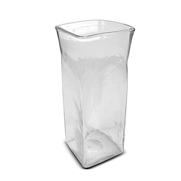 "Glass Vase, 15"" x 6"" x 6"" Column"