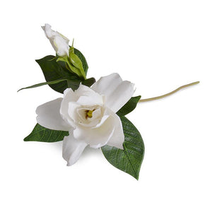 "Gardenia Flower Spray, 15"" L - Natural Touch"