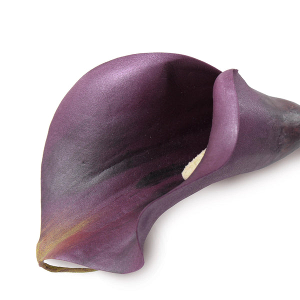 "Calla Lily Stem, Aubergine 30"" - New Growth Designs"