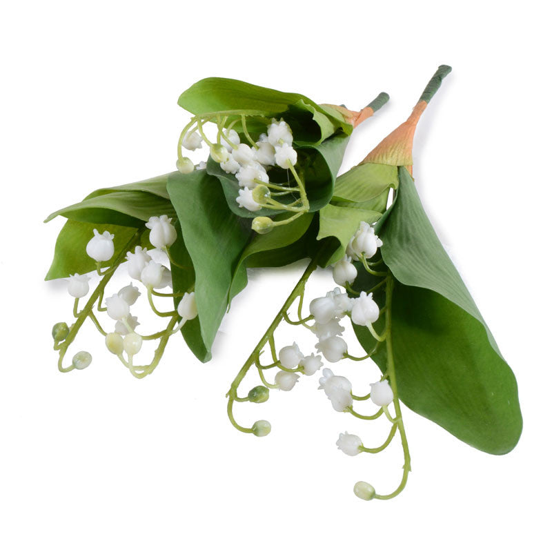 "Lily of the Valley Spray, 10"" L"
