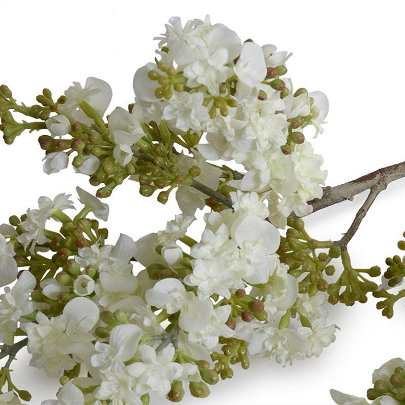 "Lilac Branch, 38"" L - White - New Growth Designs"