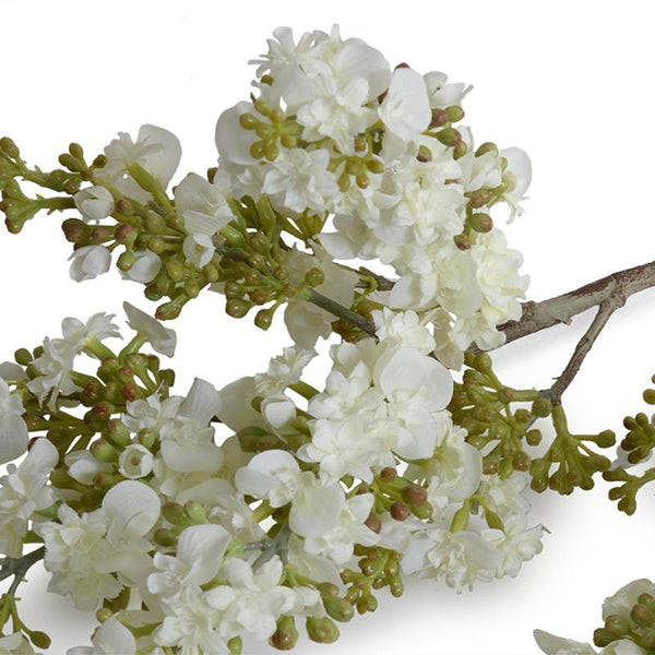 Lilac Branch White New Growth Designs