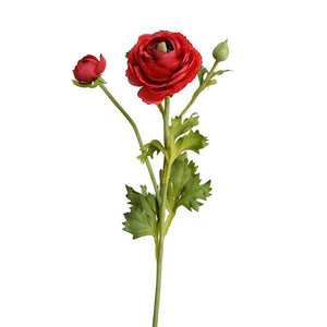 Ranunculus Spray - Red