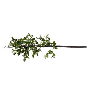 Holly Branch with White Berries, 47""