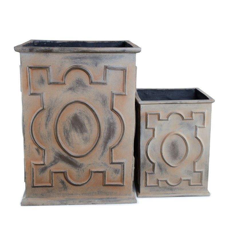 Fiberglass Decorative Pot - New Growth Designs