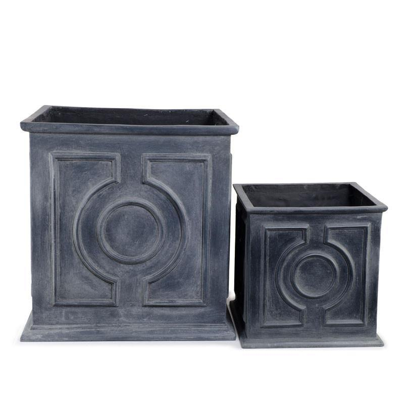Fiberglass Square Pot - New Growth Designs