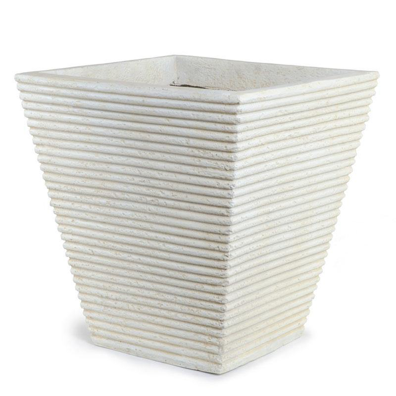 Fiberglass Tapered Square Planter - New Growth Designs