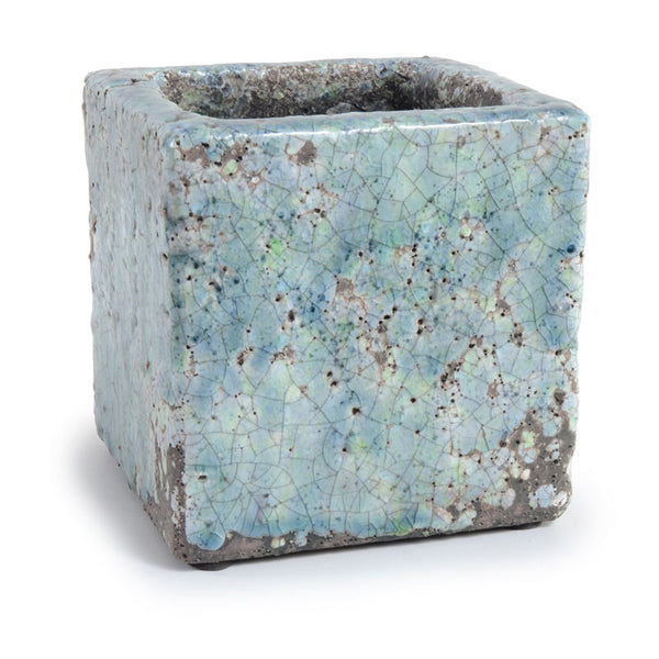 Cube Clay Pot - New Growth Designs