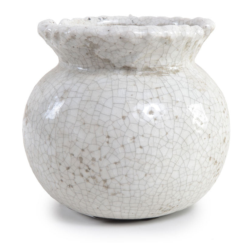 Fluted Clay Vase - New Growth Designs