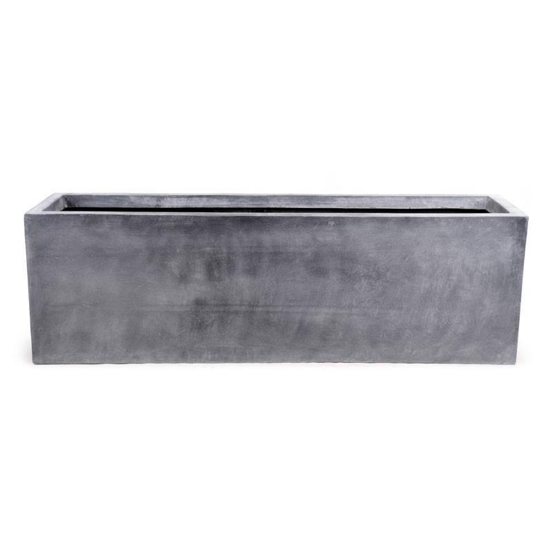 "Fiberglass Rectangle Planter, 65""L - New Growth Designs"