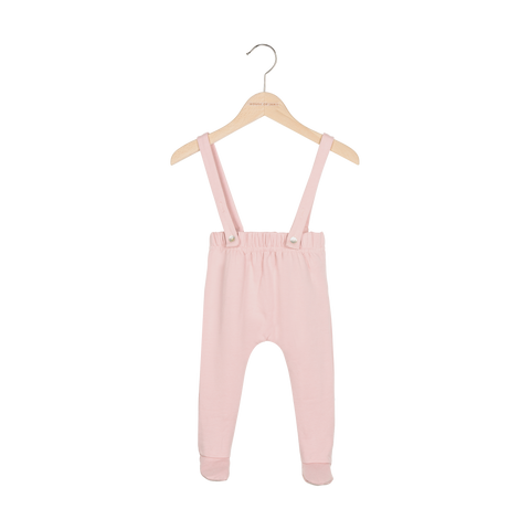 House of Jamie Pink Suspender Pants
