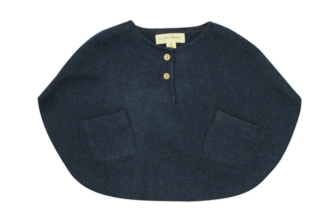 La Petite Collection Navy Cape