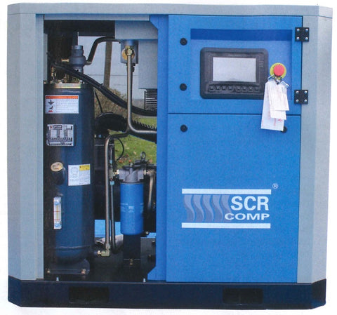 scr's new permanent magnetic screw compressor