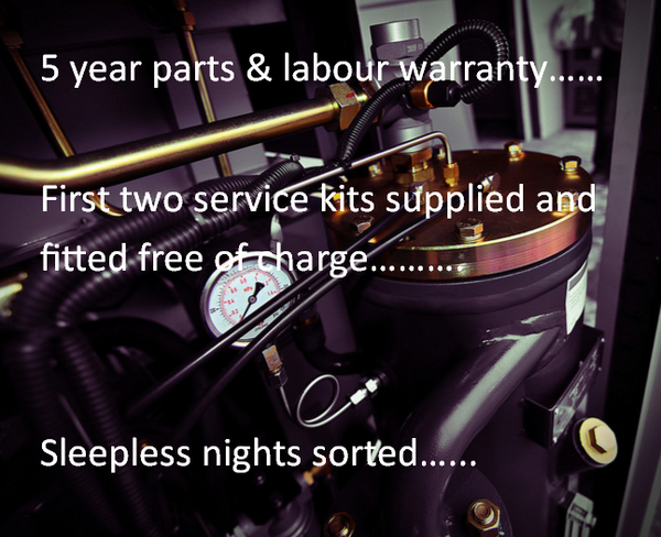 Air compressor service and warranty