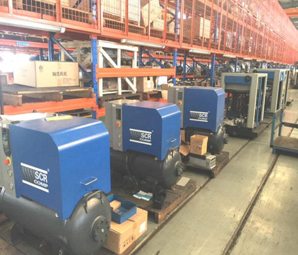 SCR air compressors