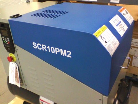 the new SCR range of PMR compressors from 7.5 to 15kW