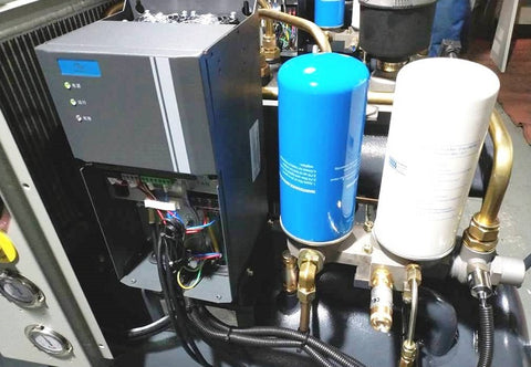 inside the new scr pmr air compressor