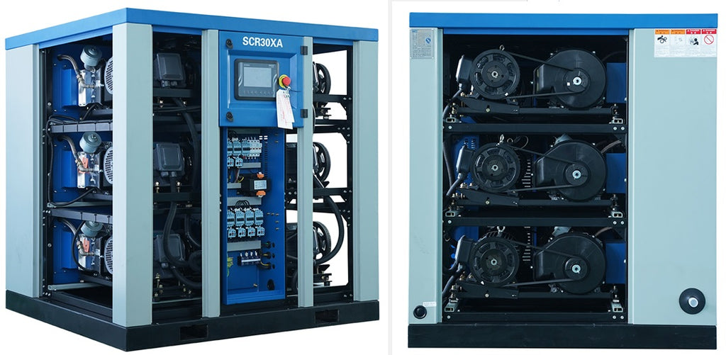 the xa range of oil free air compressors from SCR