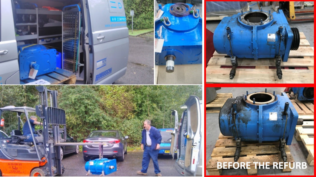 blower repair and overhaul from edc air compressors