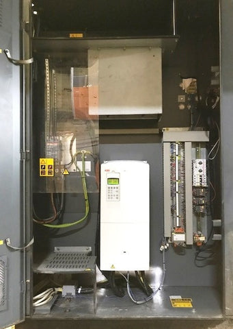 acs800 vsd retrofit on Atlas Copco air compressor