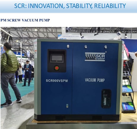 scr's 2020 new range of energy efficient air compressors