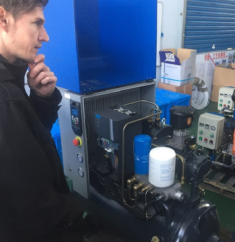 pondering high compressor servicing charges?