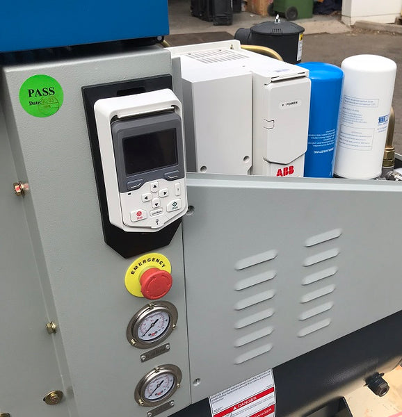 SCR air compressor with ABB inverter