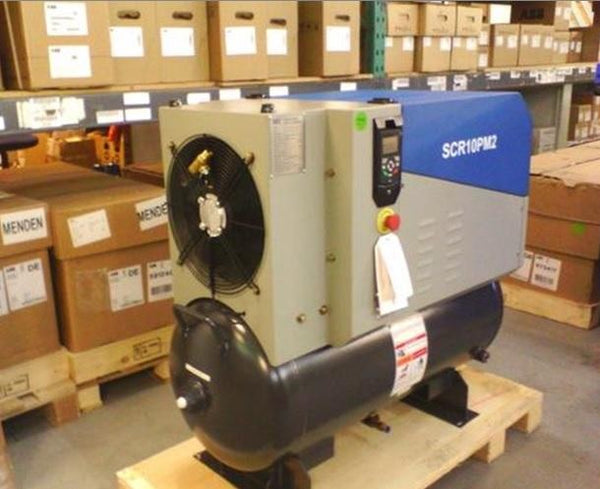 The scr pm air compressor. The most energy efficient air compressor on the market.