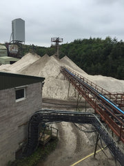 sand quarry operation