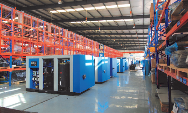 scr air compressors production line