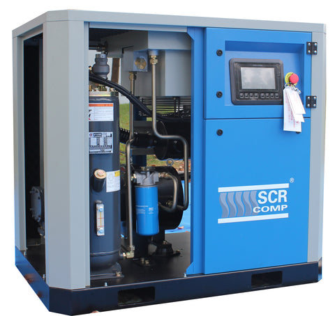 SCR60PM -10, 45kw PM screw compressor
