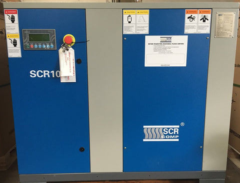 SCR10C 7.5KW OIL INJECTED AIR COMPRESSOR/ INTEGRATED DRYER