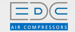 EDC Air Compressors | Scotland Logo
