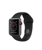 Apple Watch Series 3 - Space Gray Aluminum Case with Black Sport Band - GPS + Cellular - MediaCenter