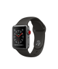 Apple Watch Series 3 - Space Gray Aluminum Case with Gray Sport Band - GPS + Cellular - MediaCenter