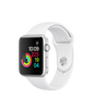 Apple Watch Series 1 Silver Aluminum Case with White Sport Band